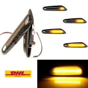 LED Dynamische Seitenblinker Blinker für BMW X1 E81 E82 E87 E88 E84 X3 E83