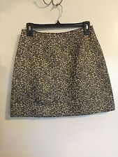 Black & Gold Embroidery Skirt