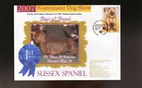 WESTMINSTER DOG SHOW 1st PLACE BEST OF BREED SOUV COVER, SUSSEX SPANIEL
