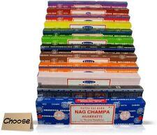 Satya Sai Baba Nag Champa Variety 12 x 15 gram Boxes of Incense