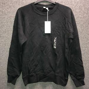 Uniqlo Long Sleeve Sweatshirt Black Medium TD013 HH 03
