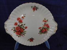 "Royal Albert Centennial Rose 9"" COOKIE or CAKE PLATE *have more items to set*"