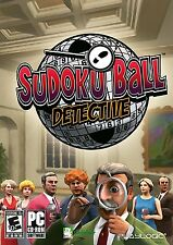 Sudoku Ball Detective [PC-DVD Computer, Puzzle Video Game] NEW