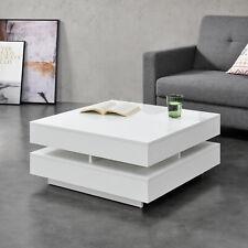 B-WARE Couchtisch Tisch Beistelltisch Wohnzimmertisch Sofatisch Ablage 75x75cm