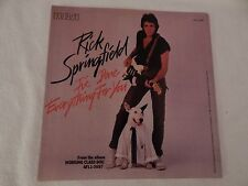 "Rick Springfield ""I've Done Everything For You"" PICTURE SLEEVE! MINT! PERFECT!"