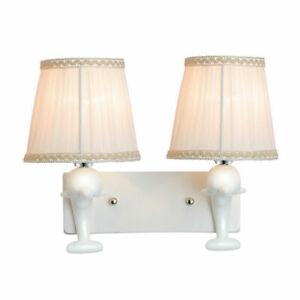 LED Wandleuchte Wandlampe Schirm Modern Dekoration Lampenschirm mit 7W E27 Lampe
