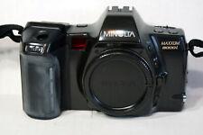 New listing Minolta Maxxum 8000i 35mm Slr Film Camera Body Only