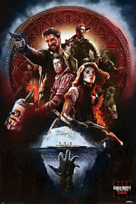 CALL OF DUTY BLACK OPS - ZOMBIES - COLLAGE POSTER - 24x36 - VIDEO GAME 53066