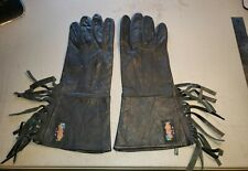 Great Vintage Leather Motorcycle Gloves. Made By Easy Riders Usa