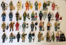 Huge 1980s GI Joe ARAH Action Figure Lot Of 42 w/ Accessories Hasbro