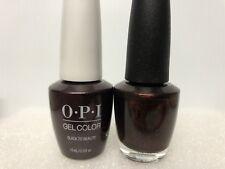 OPI GELCOLOR + MATCHING GEL POLISH BLACK TO REALITY (HP K12 / HR K12)