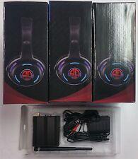 Silent Disco 3 channels headphones (4 PC's. + one transmitter). Original SD