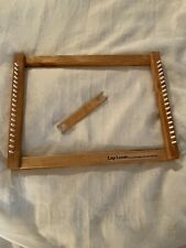 "Harrisville Designs The Original Lap Loom, 12"" x 16"" Size A, Wooden Shuttle"