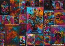 Tapestry New Mandala Indian Wall Hanging Decor Bohemian Hippie Tie-Dye Yoga Mat