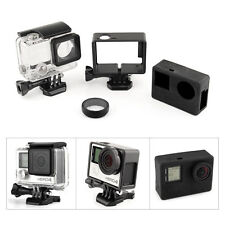 Underwater Diving Housing + Standard Frame Case+ Silicone Cover for GoPro Hero 4