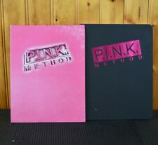 P.I.N.K. Method Book/Journal and 5 DVD set, Exercise Fitness Workout w journal