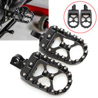 MOTOCROSS WIDE FAT FOOT PEGS FOOTREST for YAMAHA WR YZ YZF 125 85 250 F 450 F