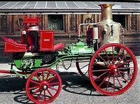 1 Fire Engine Truck Pickup 24 Antique Vintage Pewter Metal 18 1860s Civil War