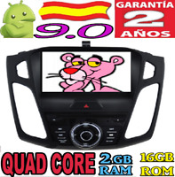 """ANDROID 9.0 FORD FOCUS 2015+ 9"""" RADIO COCHE DVD GPS CAR USB WIFI CANBU 3G AUTO"""