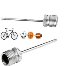 Stainless Steel Inflating Needle Pin Nozzle Football Basketball Air Pump Kit N3