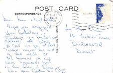 "Mr Oliver. 4 Victoria Terrace, Dorchester, Dorset. 1960 ""Dear Mum & Dad"" RH.9"