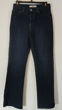 Levis Womens Jeans 6M 512 Perfectly Slimming Bootcut Dark Stretch Jeweled Back