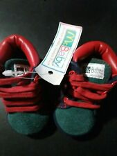 McBaby Shoes Infant Size 0 green and red