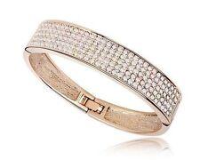 Swarovski Crystal Bangle Fashion Bracelets
