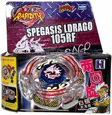 Lightning L-Drago Beyblade Set BB-43 NIP w/ BeyLauncher L-R STRING LAUNCHER!