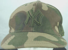 New York Yankees Camouflage Baseball Hat Fitted 7.5 Camo Cap New Era Wool 5950