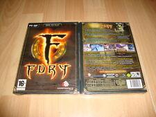 FURY RPG DE CODEMASTERS PARA PC ONLINE NUEVO PRECINTADO