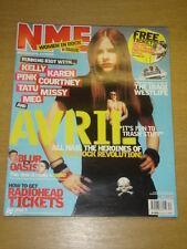 NME 2003 MAR 22 AVRIL LAVIGNE PINK TATU BLUR VS OASIS