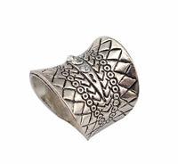 La geometría Retro De Aleacion Bohemia Boho Elefante Set de anillos de dedo