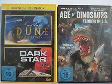 Sammlung 3x Science Fiction - Dune Wüstenplanet & Dark Star & Age of Dinosaurier