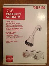 Project Source Chrome Mobile Home Shower-Only Faucet 0553400 NIB