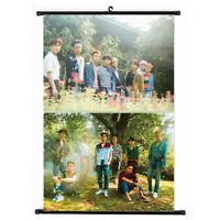 Kpop EXO THE WAR Ko Ko Bop Hanging Painting Art Painting Wall Scroll Poster