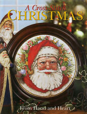 Better Homes Gardens Cross Stitch Christmas FROM HAND & HEART Hardcover Book New