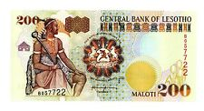 Lesotho ... P-20b ... 200 Maloti ... 2001 ... *Ch. *UNC*
