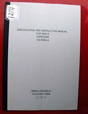 Okuma Dnc-D Specification And Instruction Manual: 3778-E (Inv.12171)