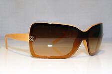fb1379aabf CHANEL mujer vintage 1990 Diseñador Gafas para sol Marrón Oval 5119 ...