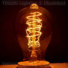 "*NEW Vintage ""Edison Look"" - CLASSIC BULB - A19 Spiral Filament Bulb Lamp Light"