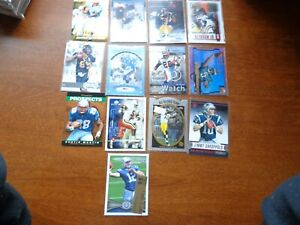 Lot of 13, All Are Star Football Rookie Card RC Luck BVG 9.5 Garoppolo Ward