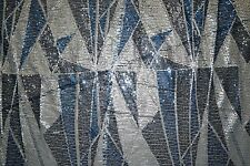 Mesh Sequin All Over #69 2-Way Stretch Poly Lycra Fabric By The Half Yard
