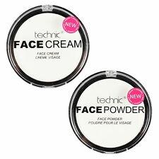 Technic White Face Powder & White Face Cream Paint Gothic Make up Set