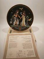 "Osiris Porcelain ""The Marriage Of Tutankhamun"" Collectors Plate, Boxed"