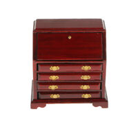 1/12 Dollhouse Miniature Wooden Living Room Cabinet Bedroom Drawer