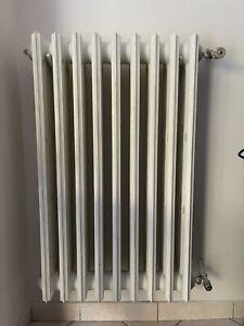 Termosifoni In Ghisa completi valvole, 8 termosifoni da 12 elementi, 80 € l'uno
