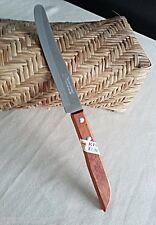 Thai Chef Knife Wood Handle Cook Knives Kitchen KIWI502 Blade Stainless Steel