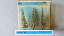 Vau-pe Trees Made in West Germany #1101 W  Set of 3 ~ 5 Inches Tall