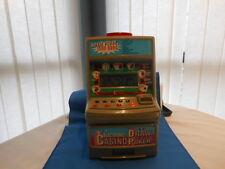 ELECTRONIC CASINO POKER DRAW